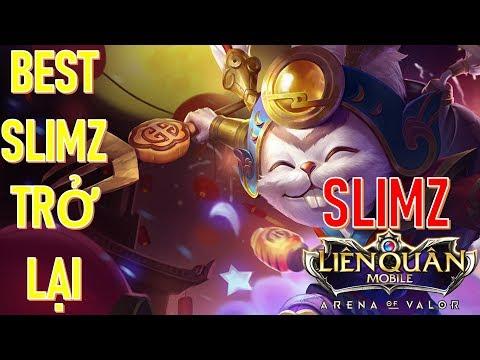 Slimz rừng ném lao bách phát trúng 100 Liên quân mobile mùa 9 Slimz trở lại