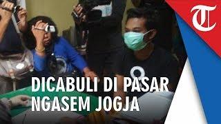 Tukang Cilok Asal Jember Diciduk Cabuli Mahasiswi Asal Cilacap di Pasar Ngasem Yogyakarta