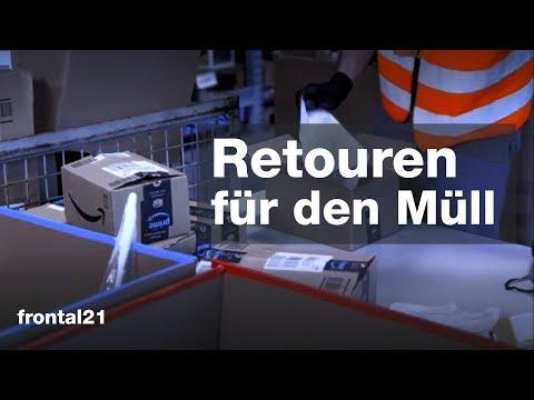 Retouren für den Müll - Frontal 21 | ZDF