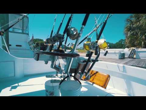 Hatteras 54 Convertible video