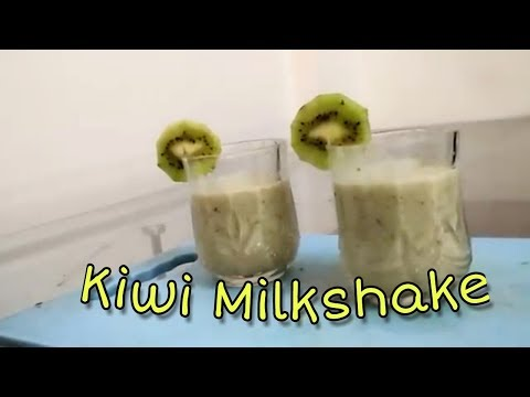 Video How to make kiwi milkshake