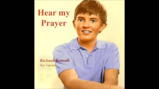Richard Bonsall, boy soprano, sings The Lord is my Shepherd, with lovely descant
