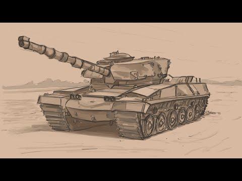 Sketching #25 Battle Tank