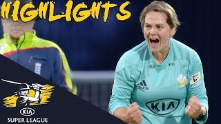 Lizelle Lee Propels Stars To Finals Day  | Stars v Storm | Kia Super League 2018 - Highlights