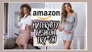 Amazon Maternity Try-On Clothing Haul