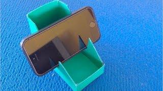 DIY. ✿Как сделать подставку для Телефона Своими Руками ✿ Полезный- Лайфхак для Дома✿