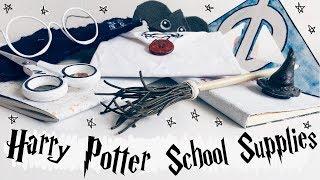 DIY Harry Potter School Supplies 2018 ★ 10 Crafts & Organisation Ideas For Back To School    Adela