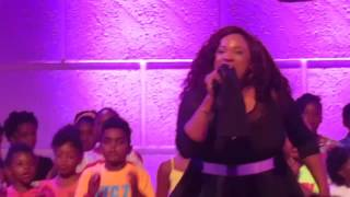 Kierra Sheard - Hang On [LIVE] (featuring The Walls Group) TWG Latitude Tour 2017