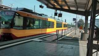 preview picture of video 'S-Bahn Karlsruhe in Bruchsal'