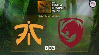 Fnatic VS SG Dragon (BO3) - The KL Major SEA Closed Qualifier