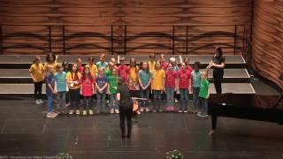 Der Kinderchor Penzing am 05.04.2017 beim Wiener Jugendsingen