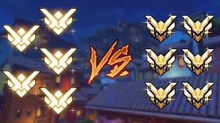 5 GRANDMASTERS VS 6 MASTER PLAYERS - Overwatch