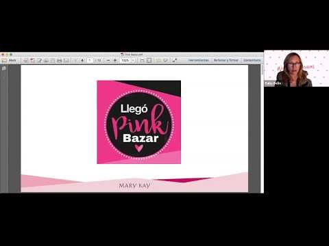 , title : 'Como hacer un Pink Bazar Mary Kay'