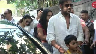 Ajay Devgn watch Golmaal Again with Kajol and kids