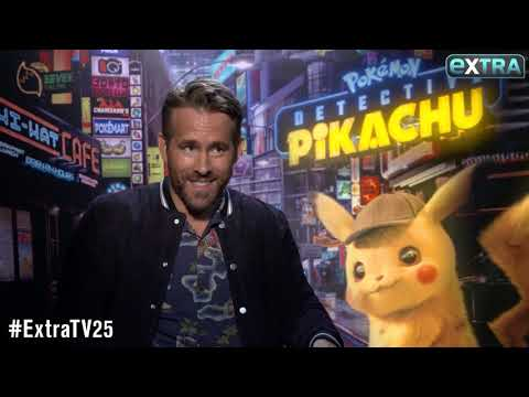 Ryan Reynolds Reveals Daughter James' Reaction After Hearing Detective Pikachu's Voice (видео)