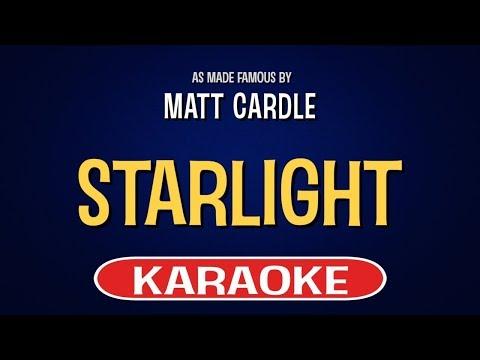 Matt Cardle - Starlight (Karaoke Version)