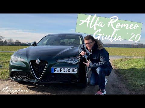 """2020 Alfa Romeo Giulia Lusso Ti (190 PS Diesel) """"Gebrauchtwagen"""" Test [4K] - Autophorie"""
