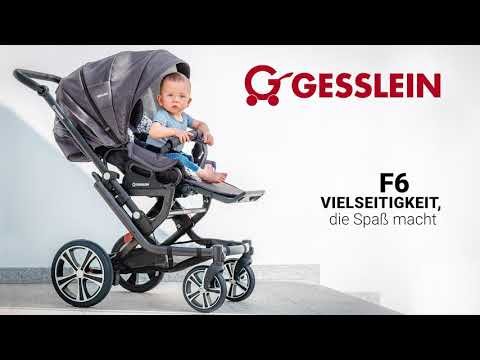 Gesslein Kinderwagen F6 / F10   Funktionen   Demo   Handling & Zusammenlegen
