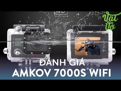 Hình ảnh Video - Đánh giá camera hành trình Amkov: quay dưới nước đẹp, dùng chung phụ kiện với Go Pro