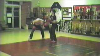 Ray Rice Kickboxing Training Rounds with John Henderson Summer of 1987
