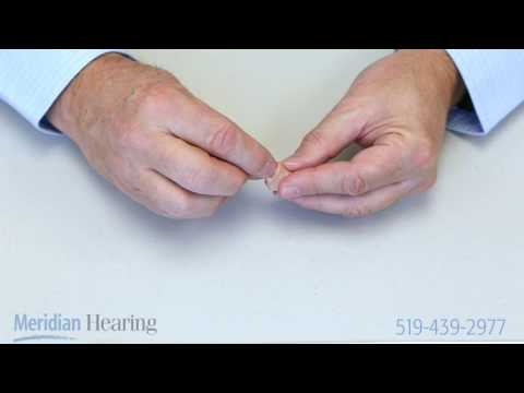 How To Change A Hearing Aid Battery ITE Hearing Aids
