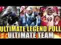 TWO 99 OVERALL PULLS AND ULTIMATE LEGEND PULL!!! - Madden 16 Ultimate Team