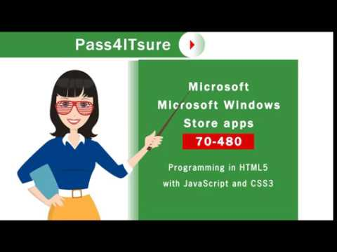 Latest Microsoft Windows Store apps 70-480 exam questions and ...