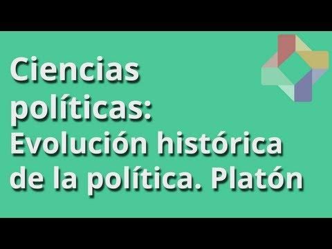 Evolución histórica de la política. Platón - Ciencias Políticas - Educatina