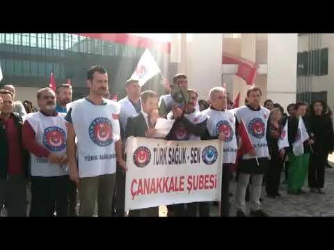 """""""SAĞLIK ÇALIŞANLARININ SORUNLARI SİZİN DE SORUNUNUZDUR"""""""