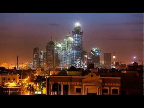 تصوير بطريقة التايم لابس لمدينة الرياض