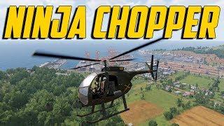 ARMA 3 Exile Vietnam - Ninja Chopper