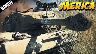 Baron Saves THANKSGIVING from the Germans - War Thunder Gameplay