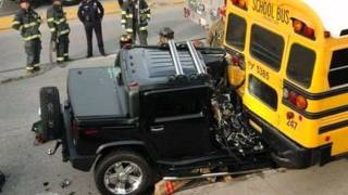World's best hummer Crashes