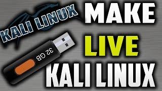 How To Make Kali Linux Bootable USB-Make Kali Linux Bootable USB   Kali Linux Live Usb Install