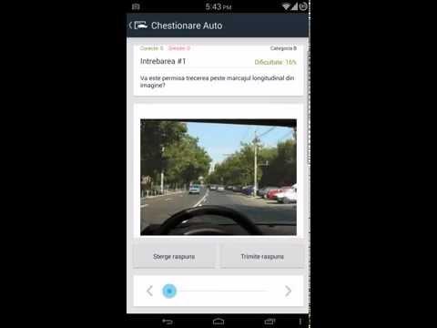 Video of Chestionare Auto - Lite