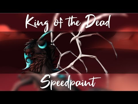 |[Speedpaint]| King of the Dead