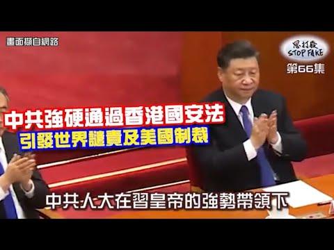 【思打廢-STOP FAKE】第66集 中共強硬通過香港國安法引發國際譴責撻伐