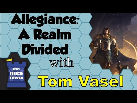 Allegiance: A Realm Divided Review - with Tom Vasel