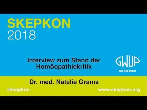 Interview zum Stand der Homöopathiekritik (Dr. med Natalie Grams) Skepkon 2018