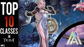Tera Console (PS4) & (Xbox One) : TOP 10 CLASSES FOR BEGINNERS! (Part 2) (2018)