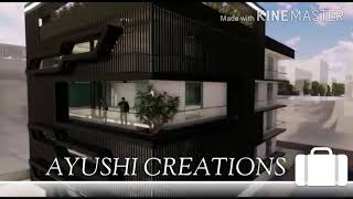 Commercial Exterior Walkthrough 2020# Office Interior Design# Modern Architecture#Landscaping Desig.
