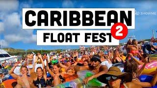 FUIKDAG 2018 CURAÇAO - DRONE VIDEO OF BIGGEST FLOAT FEST OF THE CARIBBEAN