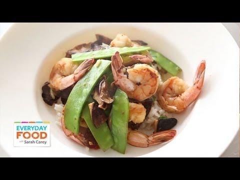 Shiitake Shrimp