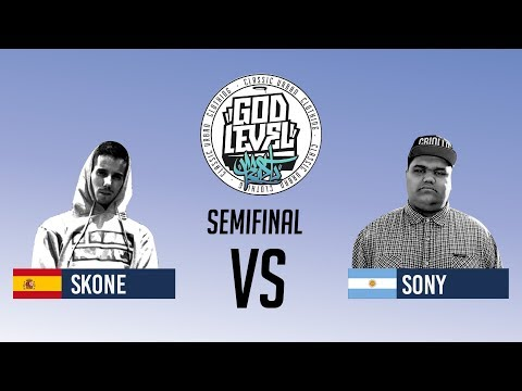 SONY VS SKONE / SEMIFINAL / GOD LEVEL ARGENTINA