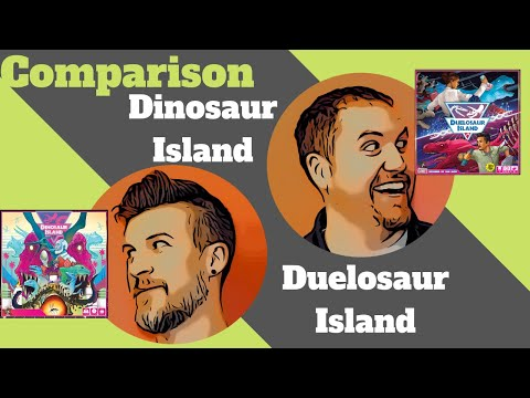 Dinosaur Island and Duelosaur Island Comparative Review