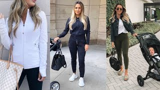 CUTE BUT CASUAL OUTFIT ESSENTIALS! ATHLEISURE STYLE