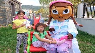 Doc McStuffins Öyküye Yardım Ediyor! Pretend Playtime Doc McStuffins - Fun Kids Video