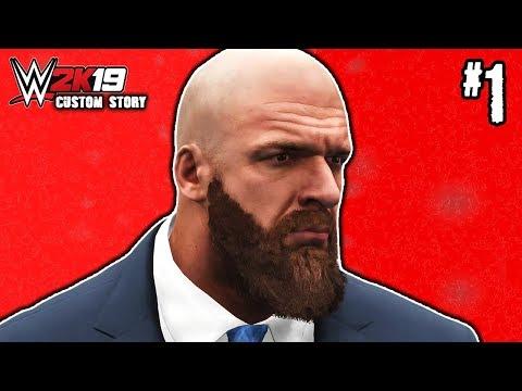 THE MASTER PLAN!! | WWE 2K19 Custom Story #1