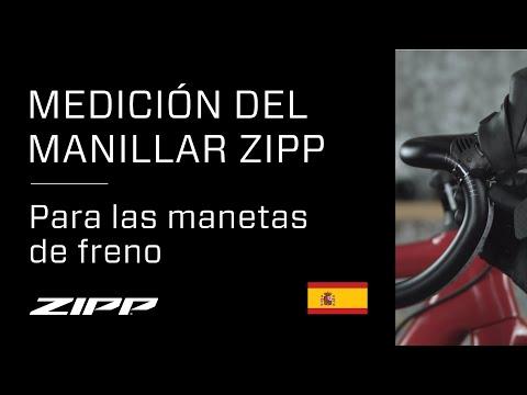 Medición del manillar ZIPP para las manetas de freno