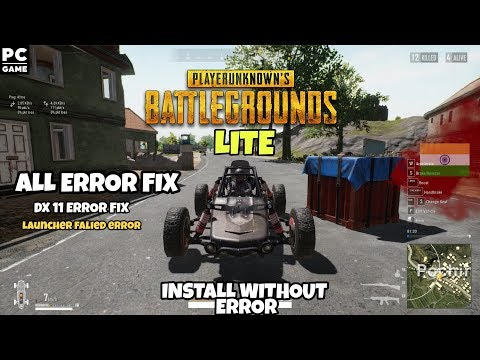 Download Pubg Lite Download Launcher In Fail 0x500000010 Error Fix